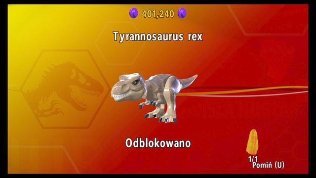 How to unlock dinosaurs? | Important advices - LEGO Jurassic World ...