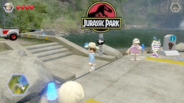 Welcome to jurassic park jurassic park walkthrough lego raptor paddock gumiabroncs Gallery