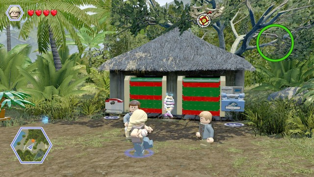 Visitor center jurassic park walkthrough lego jurassic world after you reach the gate walk over to the right where you find a gumiabroncs Images