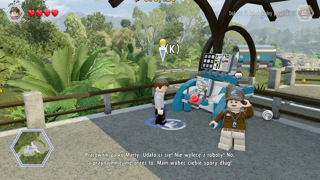 Gyrosphere valley jurassic world walkthrough lego jurassic again follow the path of the turquoise studs that lead up to your destination gumiabroncs Images