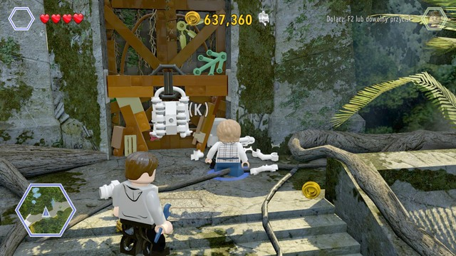 After you have collected the gold brick, be on your way - Out of Bounds - Jurassic World - walkthrough - LEGO Jurassic World - Game Guide and Walkthrough