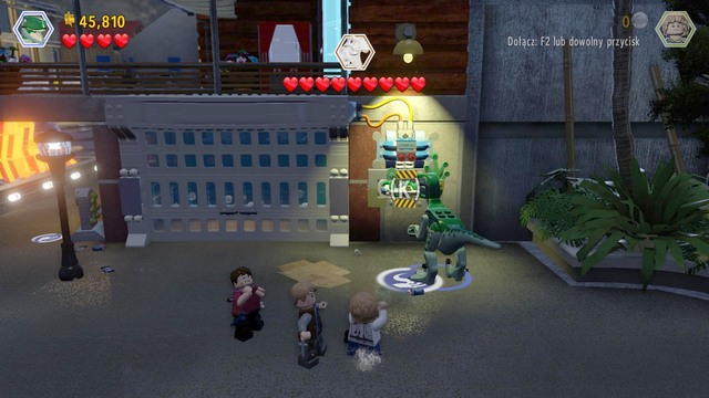 Main street showdown jurassic world walkthrough lego jurassic as velociraptor walk over to the right side pull the lever shown in the gumiabroncs Images