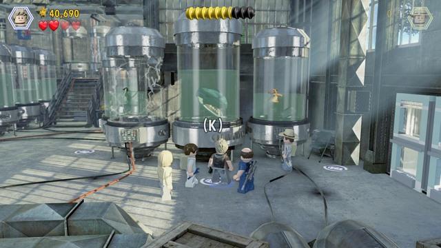 Breeding Facility Jurassic Park Iii Walkthrough Lego