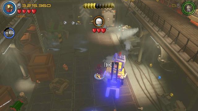 Minikits | Anger Management - secrets - LEGO Marvel's ...