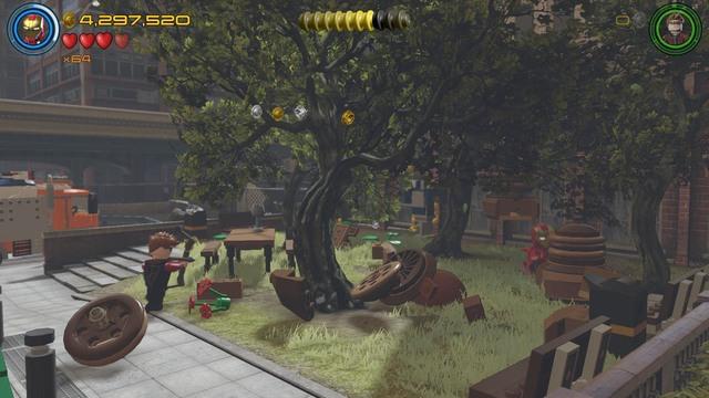 Minikits   Lack of Insight - secrets - LEGO Marvel's ...