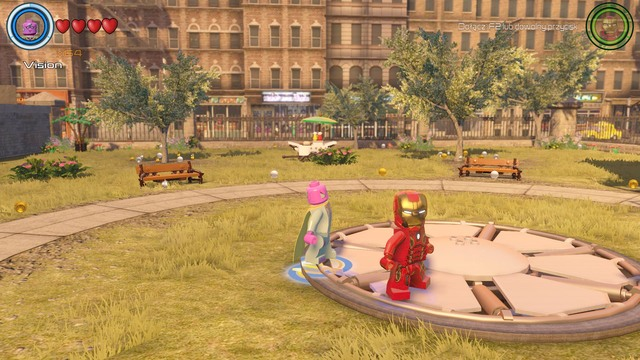 Golden Bricks Central Manhattan Secrets Lego Marvel