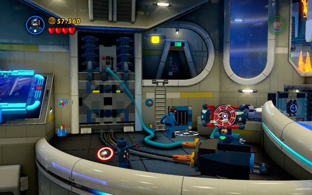 On the second part of the area Mr - Times Square Off - Walkthrough - LEGO Marvel Super Heroes - Game Guide and Walkthrough