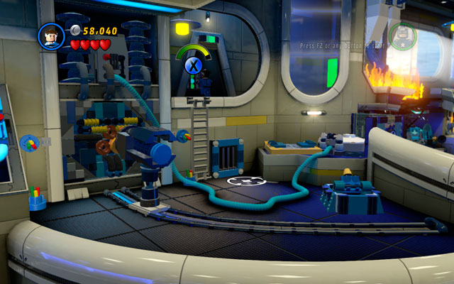 Turn on the machine and climb a ladder using Mr - Times Square Off - Walkthrough - LEGO Marvel Super Heroes - Game Guide and Walkthrough