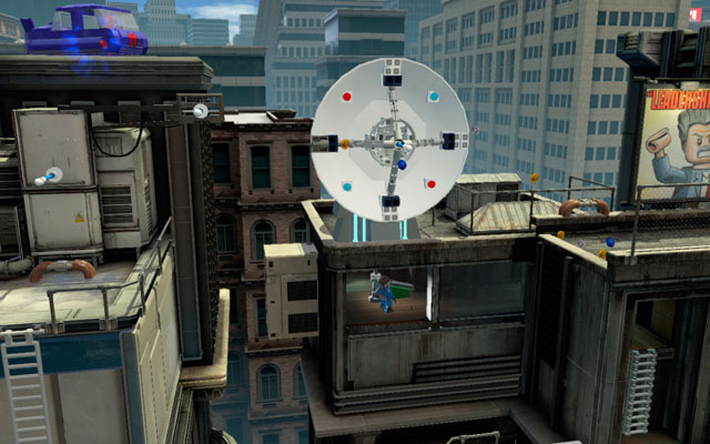 Climb to the control room and destroy all obstacles hidden there - Times Square Off - Walkthrough - LEGO Marvel Super Heroes - Game Guide and Walkthrough