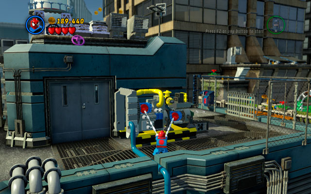 Defeat all enemies and go forth - Times Square Off - Walkthrough - LEGO Marvel Super Heroes - Game Guide and Walkthrough