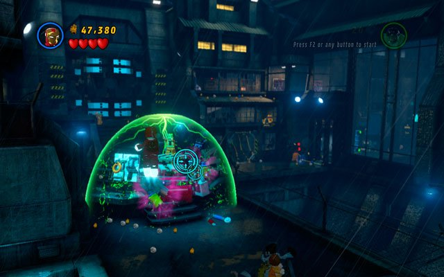 In the interior of the prison you will meet an arch villain - The Leader - Rock Up at the Lock Up - Walkthrough - LEGO Marvel Super Heroes - Game Guide and Walkthrough
