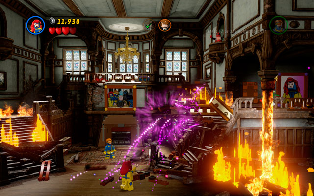 Approach to the central part of the area and destroy all objects lying there - Juggernauts and Crosses - Walkthrough - LEGO Marvel Super Heroes - Game Guide and Walkthrough