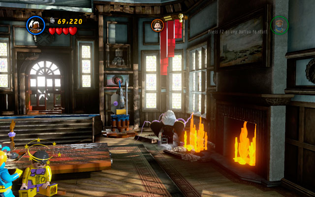 After short cut-scene switch into Storm and mash an attack button to release yourself from Toad's grip - Juggernauts and Crosses - Walkthrough - LEGO Marvel Super Heroes - Game Guide and Walkthrough