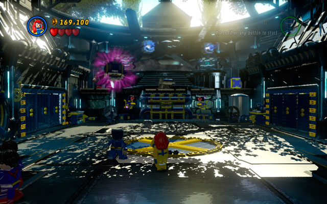 Struggle with Juggernaut is quite complicated and divided into few smaller sequences - Juggernauts and Crosses - Walkthrough - LEGO Marvel Super Heroes - Game Guide and Walkthrough