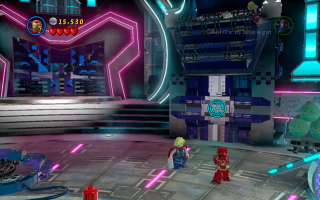 At the beginning of the mission you will be forced to fight with huge army of Magneto Acolytes - Magnetic Personality - Walkthrough - LEGO Marvel Super Heroes - Game Guide and Walkthrough
