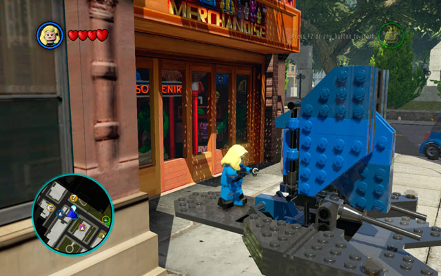 In this intersection the previous order of acting will be reversed - you will start in New York, heading to the S - New York / S.H.I.E.L.D. Helicarrier - Walkthrough - LEGO Marvel Super Heroes - Game Guide and Walkthrough