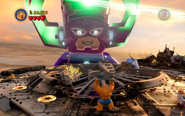 The Good, the Bad and the Hungry | Walkthrough - LEGO Marvel