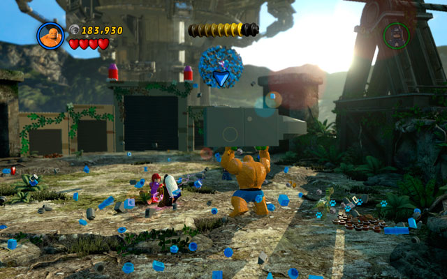 Now it is time to fight with Magneto - Rhino and Magneto - Boss fights - LEGO Marvel Super Heroes - Game Guide and Walkthrough