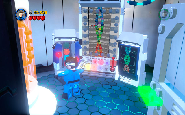 Enter to the newly opened room and use Mr - Exploratory Laboratory - Minikit Sets - LEGO Marvel Super Heroes - Game Guide and Walkthrough