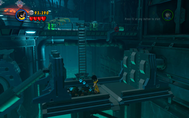 In the underground of the building choose Wolverine and go to the right corner of the location - Exploratory Laboratory - Minikit Sets - LEGO Marvel Super Heroes - Game Guide and Walkthrough