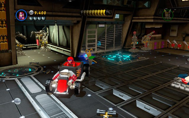 Unlock the car and enter it - Rebooted, Resuited - Minikit Sets - LEGO Marvel Super Heroes - Game Guide and Walkthrough