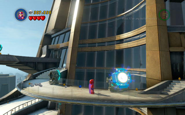 Kill Killian and wait for Mandarin to destroy all Iron Man's armors, so you can fly to the top floor of the building - Rebooted, Resuited - Minikit Sets - LEGO Marvel Super Heroes - Game Guide and Walkthrough