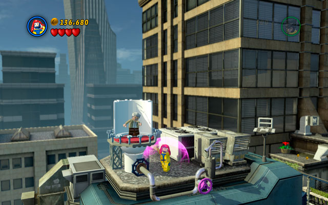 Switch to Jean Grey and use her telekinetic abilities to turn a violet valve - The Main Campaign - Stan Lee in Peril - LEGO Marvel Super Heroes - Game Guide and Walkthrough