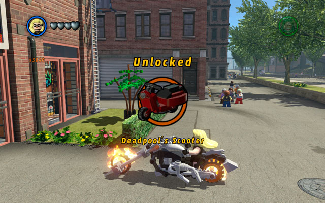 Simple unlocking the vehicle does not give you an access to it - Vehicles - LEGO Marvel Super Heroes - Game Guide and Walkthrough