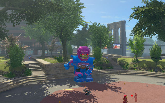 Events are considered as non-standard miniquests, which can be found in New York City hub (they are marked with question mark on the map) - Events - Maps - LEGO Marvel Super Heroes - Game Guide and Walkthrough
