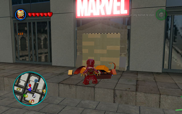 To begin this mission, you must go to the Marvel building - Nuff Said - Deadpool Bonus Missions: Walkthrough - LEGO Marvel Super Heroes - Game Guide and Walkthrough