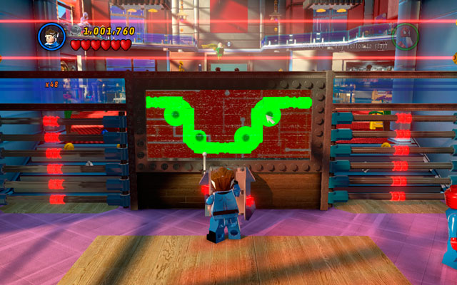 After the beginning of the mission, go to the desk located the in front of you and destroy it - Nuff Said - Deadpool Bonus Missions: Walkthrough - LEGO Marvel Super Heroes - Game Guide and Walkthrough