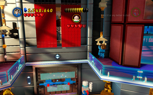 Go to the left to find the lever and pull it - Nuff Said - Deadpool Bonus Missions: Walkthrough - LEGO Marvel Super Heroes - Game Guide and Walkthrough