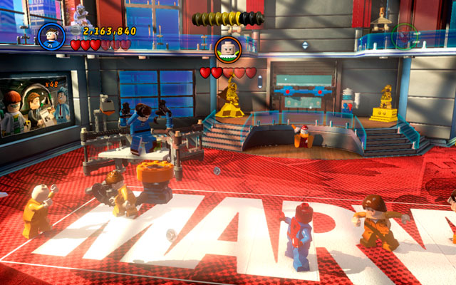 Turn left and construct a small pump from the debris - Nuff Said - Deadpool Bonus Missions: Walkthrough - LEGO Marvel Super Heroes - Game Guide and Walkthrough