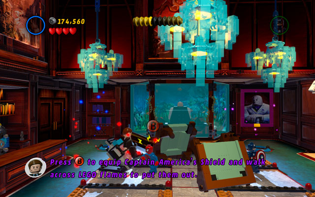 Turn left and find imprisoned man - Feeling Fisky - Deadpool Bonus Missions: Walkthrough - LEGO Marvel Super Heroes - Game Guide and Walkthrough