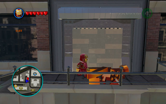 This mission is located at Fogwells Gym - Put Up Your Dukes - Deadpool Bonus Missions: Walkthrough - LEGO Marvel Super Heroes - Game Guide and Walkthrough