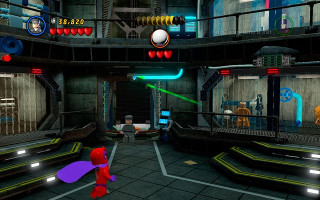 Use Mystique powers to turn into guard and cheat the camera - The Thrill of the Chess - Deadpool Bonus Missions: Walkthrough - LEGO Marvel Super Heroes - Game Guide and Walkthrough