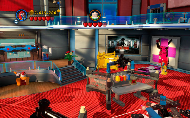 Go to the back-right side of the next room - Nuff Said - Deadpool Bonus Missions: Collectables - LEGO Marvel Super Heroes - Game Guide and Walkthrough