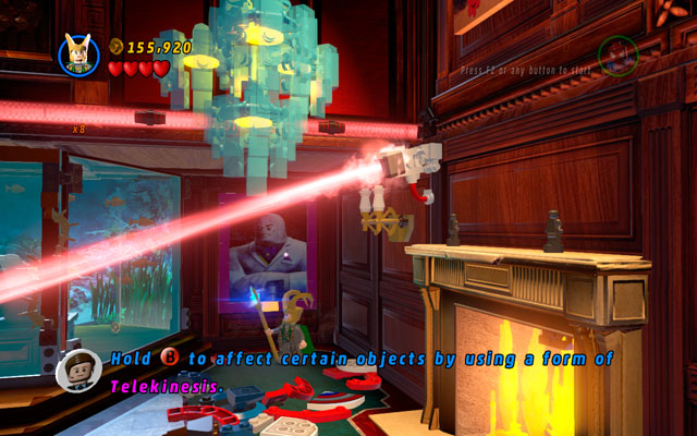 Choose a character with telekinesis power (e - Feeling Fisky - Deadpool Bonus Missions: Collectables - LEGO Marvel Super Heroes - Game Guide and Walkthrough