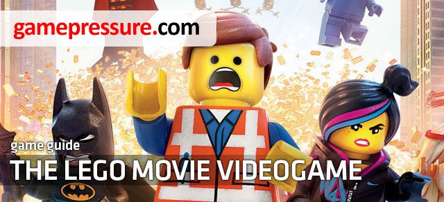This guide for The Lego Movie Video Game is a collection of information that makes it possible to complete the game in 100% - The LEGO Movie Videogame - Game Guide and Walkthrough