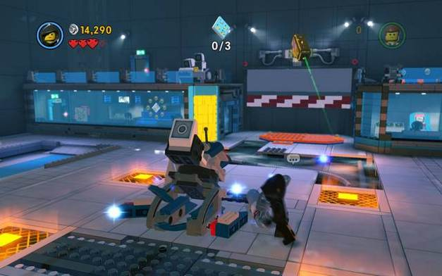 Escape from Bricksburg | The story mode - The LEGO Movie Videogame ...
