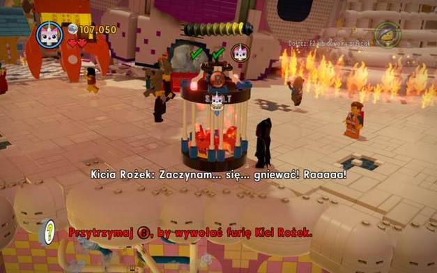 lego movie game cloud cuckoo land gold instructions