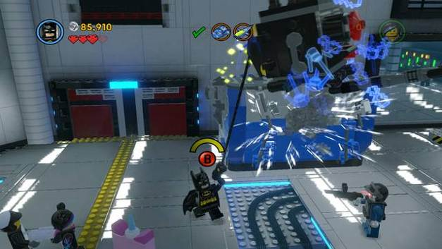Where Is The Server Room In Lego Movie Game