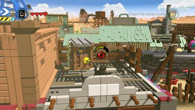 The first robber - Old West - Side Missions - Red Bricks - The LEGO Movie Videogame - Game Guide and Walkthrough