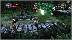 You will face the alligator - A Touch of Destiny - walkthrough - Dead Man's Chest - LEGO Pirates of the Caribbean: The Video Game - Game Guide and Walkthrough