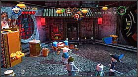 You need to recruit three people - Singapore - walkthrough - At World's End - LEGO Pirates of the Caribbean: The Video Game - Game Guide and Walkthrough