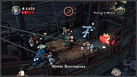 12 - Norrington's Choice - walkthrough - At World's End - LEGO Pirates of the Caribbean: The Video Game - Game Guide and Walkthrough