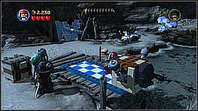 Dig up the object and destroy the lock - Whitecap Bay - walkthrough - On Stranger Tides - LEGO Pirates of the Caribbean: The Video Game - Game Guide and Walkthrough