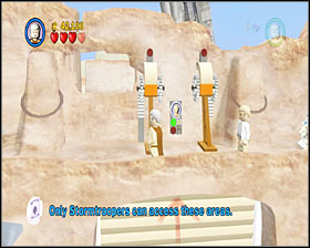 1 - Mos Eisley Spaceport - Story Mode - Episode IV - LEGO Star Wars II: The Original Trilogy - Game Guide and Walkthrough