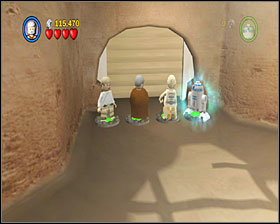 3 - Mos Eisley Spaceport - Story Mode - Episode IV - LEGO Star Wars II: The Original Trilogy - Game Guide and Walkthrough