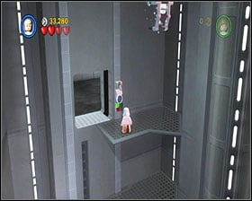 This part can be tricky - you must act fast - Death Star Escape - Story Mode - Episode IV - LEGO Star Wars II: The Original Trilogy - Game Guide and Walkthrough